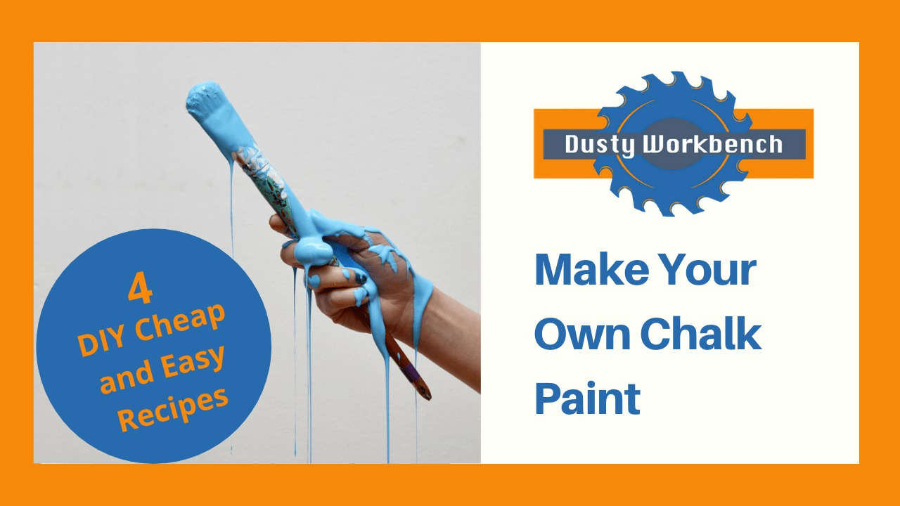 4 DIY chalk Paint Recipes
