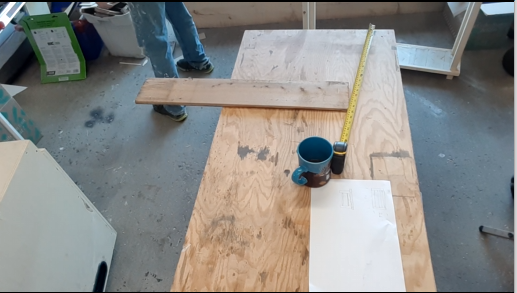 Planning out the Hallway table