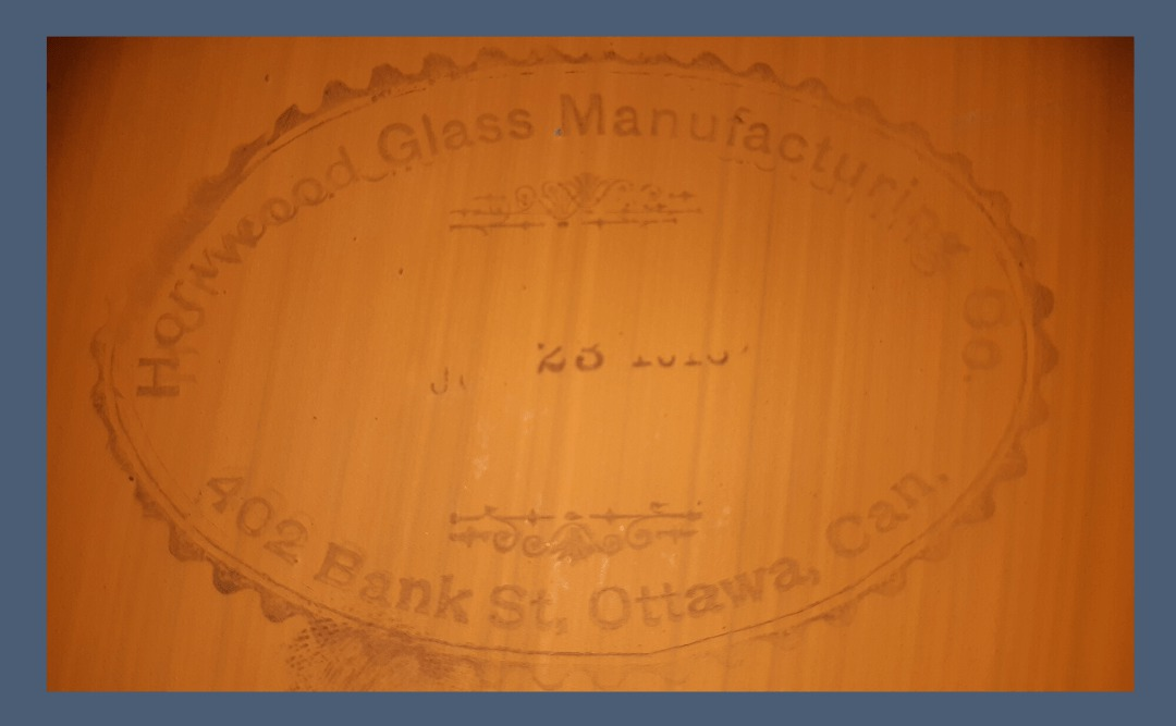 Horwood Glass Manufacturing Co. Stamp