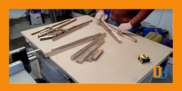 ry assembly of wood for mirror frame