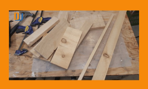 Sorting boards for the Rustic Wood Serving Tray
