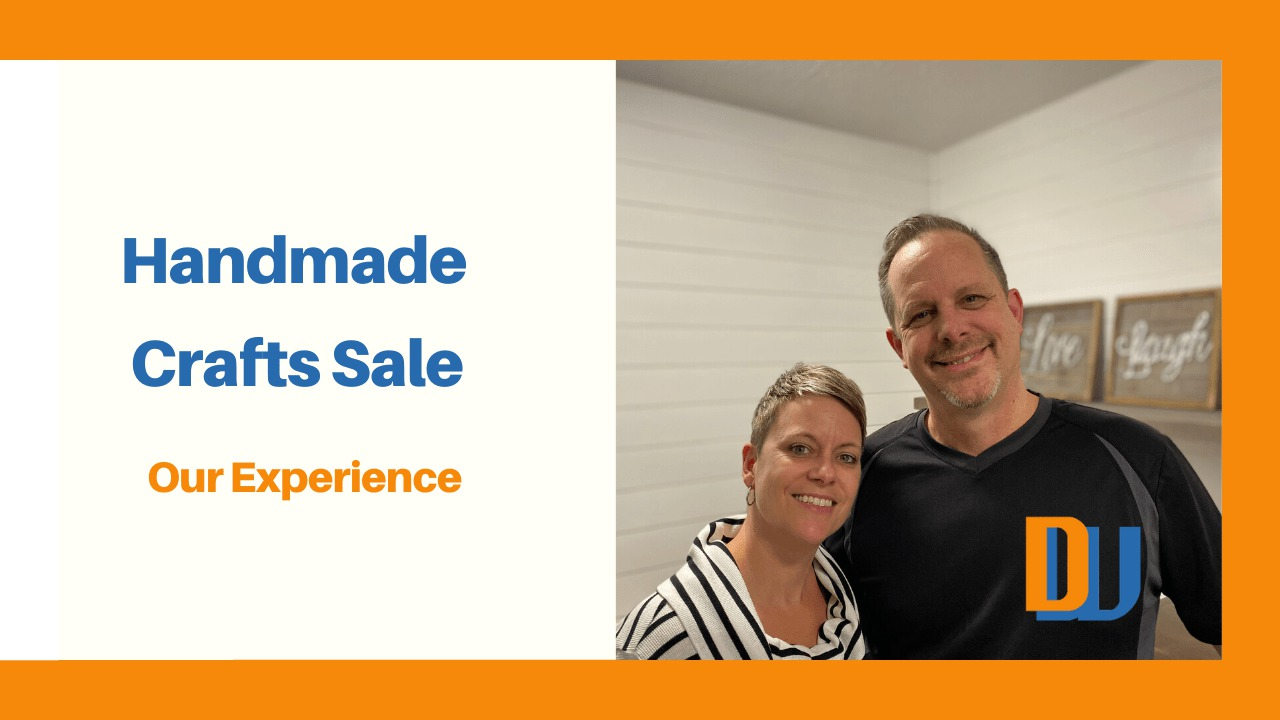 Handmade Crafts Sale our experience blog cover