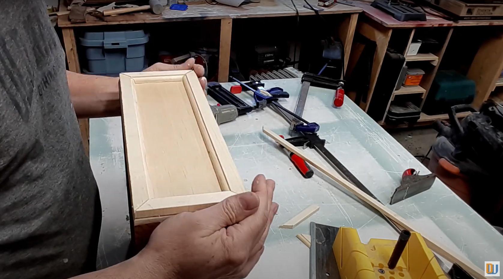 drawer front trim